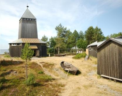 båtmuseets gård